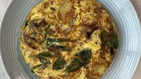 What top chefs like to cook for themselves: potato and spinach omelette