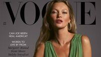 Kate Moss stuns in new Vogue cover