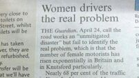 Women drivers the real problem