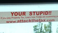 If you're going to make a sticker calling people stupid…
