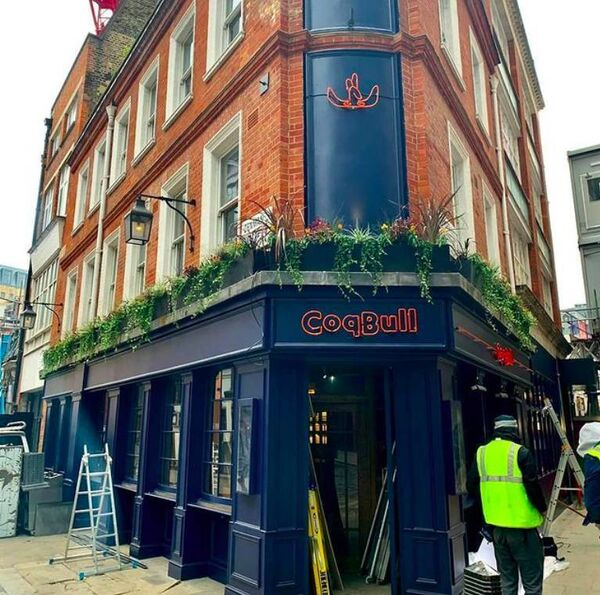 Coqbull's newest restaurant is located in Soho