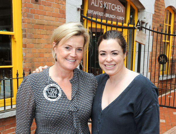 Claire Nash of Nash 19 and Ali Honour of Ali's Kitchen. Picture: David Keane