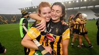 Collette Dormer and Claire Phelan celebrates after the game 28/11/2020