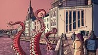 Graphic illustrations of Cork are pure Dynamite