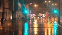 Emergency services respond to flash floods in Douglas and Cork city