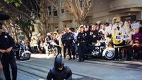 Kid wants to be Batman for a day. San Francisco grants his wish.