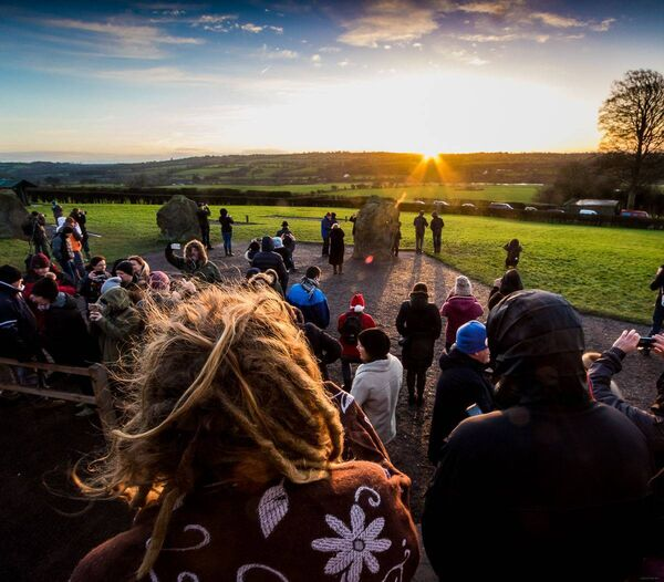 A Winter Solstice sunrise at Newgrange in 2016. Picture: John Coveney Photography