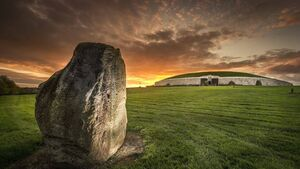 Watch today's winter solstice sunrise at Newgrange through this live stream