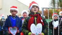 Watch as kids serenade Cork nursing home residents with song and virtual hugs