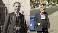 Remember the photographer who stood on O'Connell bridge for 50 years?