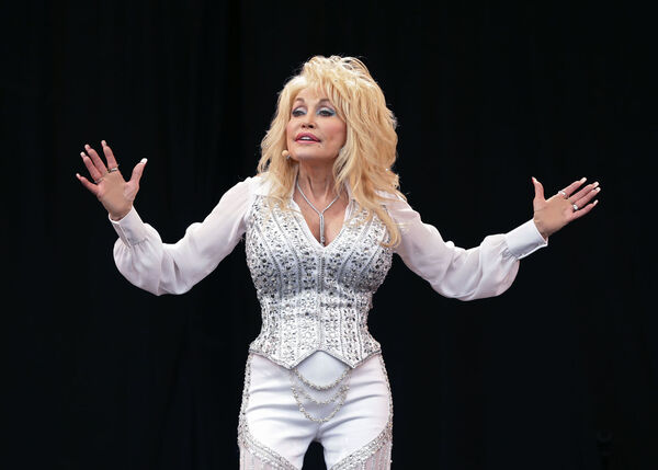 You could follow Dolly's charitable example