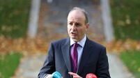 Micheal Martin visits Dublin City Council offices