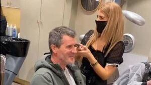 Roy Keane pays visit to recently re-opened Cork hair salon