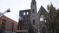 Historic Church Fire