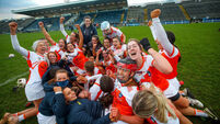 Armagh celebrate winning 5/12/2020