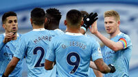 Manchester City v Fulham - Premier League - Etihad Stadium