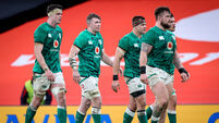 James Ryan, Peter O'Mahony, CJ Stander, Quinn Roux and Andrew Porter 5/12/2020