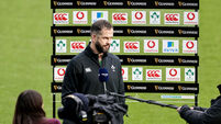 Andy Farrell speaks to the media before the game 5/12/2020