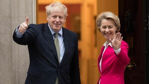 Von der Leyen and Johnson agree to make final push for Brexit trade deal