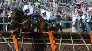 Solwhit proves worth in Liverpool Hurdle