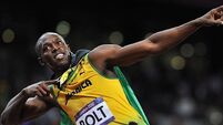 Bolt back for more after recording his fastest time this year