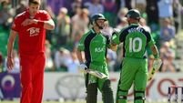 England faltering in response to Ireland innings