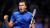 Tsonga halts Fed Express in French Open