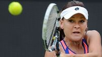 Radwanska out, Serena easily gets through to US Open quarter-finals