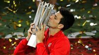Another Shanghai Masters title for Djokovic