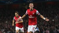 Ozil set to be fit for Gunners game