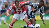 Ireland misses sitter as Stoke play out scoreless draw with Baggies