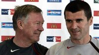 Keane hits back at Fergie book comments