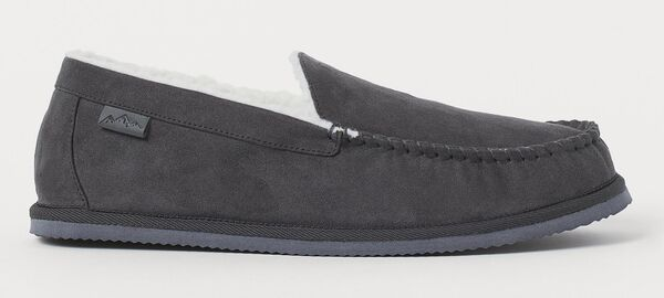 H&M faux shearling-lines slippers - €14.99