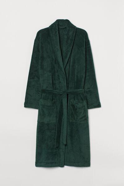 H&M fleece dressing gown - €39.99