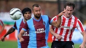Trabzonspor end Derry's European dream