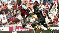Pennant free-kick gives Stoke the points at Upton Park