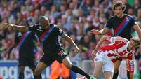 Stoke see off new boys Palace