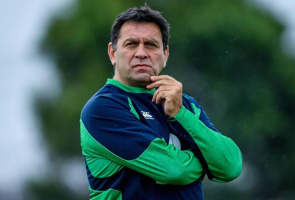 IRFU Performance Director David Nucifora: Has backed the PRO14 expanding to the PRO16 through the addition of more South African teams. Picture: Brendan Moran/Sportsfile