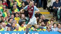 Villa snatch the points at Norwich