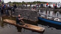UCC archaeology team recreates 2,400-year-old Iron Age logboat