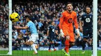 City rout ragged Spurs with six-goal thumping