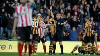 Cuellar own-goal and two red cards go against Sunderland