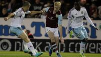 Joy for Sam as Hammers advance