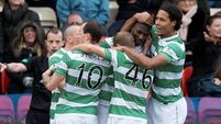 Substitute Balde cements Celtic's place at top