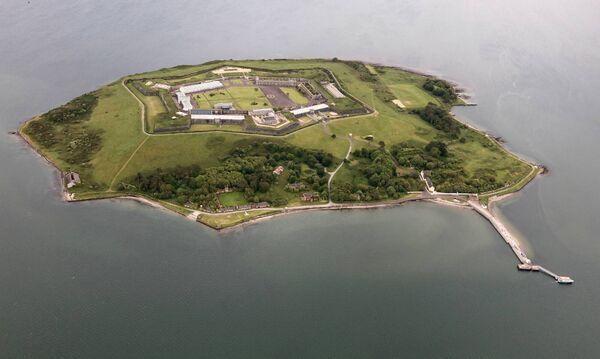 Spike Island aerial view. Credit: Spike Island