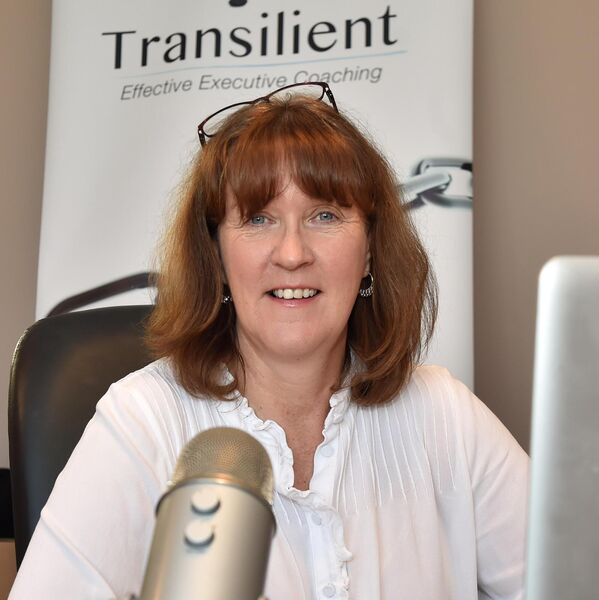 Barbara Nugent, director of Transilient Effective executive coaching, working from home in Clonakilty. Picture: Eddie O'Hare
