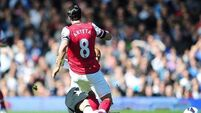 Gunners squeeze past Fulham to move into third