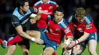 Munster go top with win over Glasgow