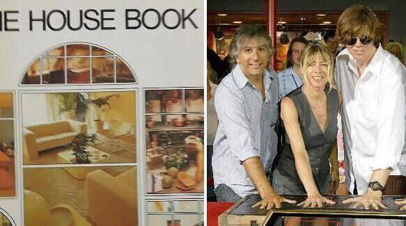 Terence Conran's The House Book was popular in the Murphy household; right, Sonic Youth provided a seminal gig experience.