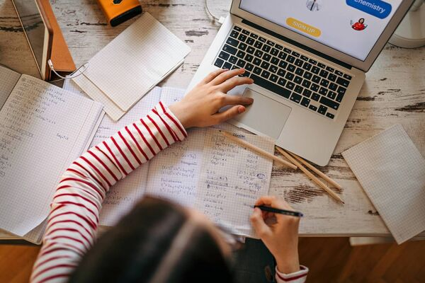 Homeschooling doesn't have to be boring, once lessons are done log online for some extra educational games and activities. Picture: iStock